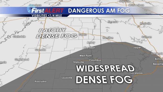 Dangerous Fog Till 9 AM