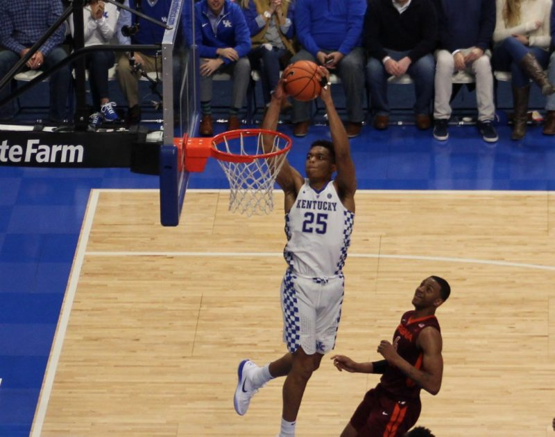 Virginia Tech is college basketball's highest-scoring team, but now comes Kentucky