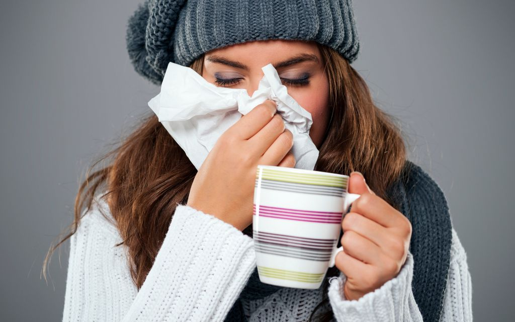 Flu levels are soaring Credit Getty Images