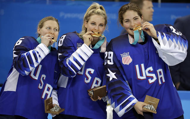 Maddie Rooney made so many saves in the USA-Canada gold medal game she was named 'Secretary of Defense'