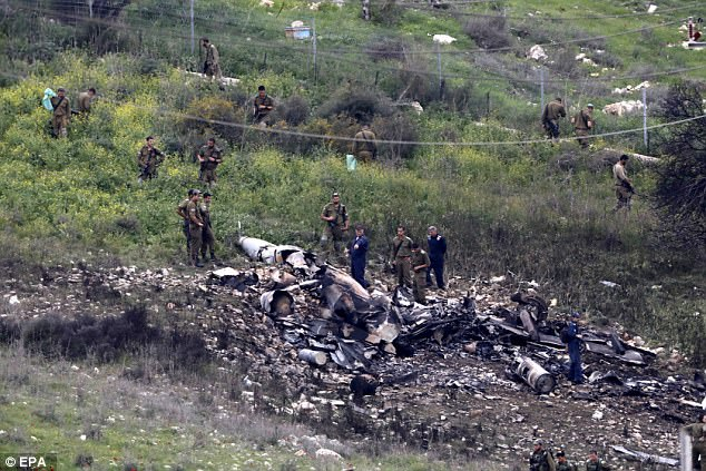 Damascus has warned of'further surprises for Israel if it launches attacks on Syrian soil after an F16 jet was shot down while returning from a bombing run on Saturday