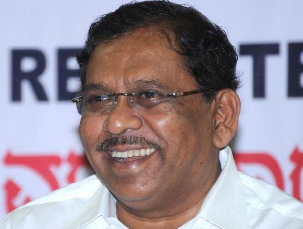 KPCC President Dr G Parameshwara DH file