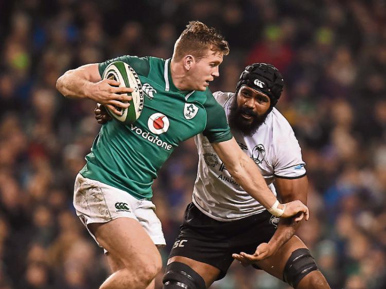 Munster's Chris Farrell starts but John Ryan on bench for Ireland against Wales