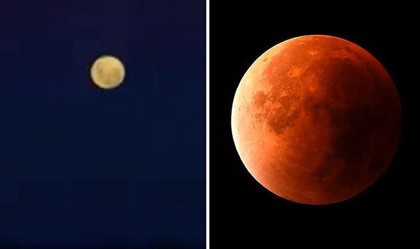 Blood Moon 2018 eclipse