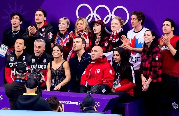 2018 Winter Olympics Team Canada