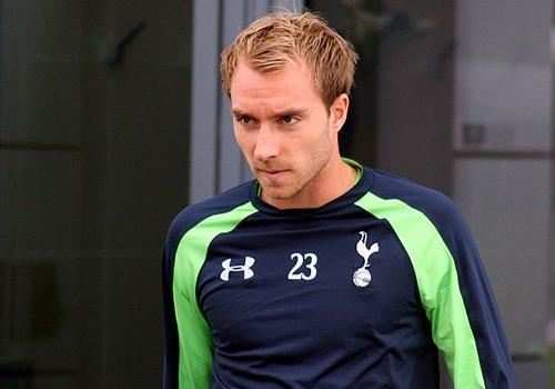 Tottenham midfielder Christian Eriksen