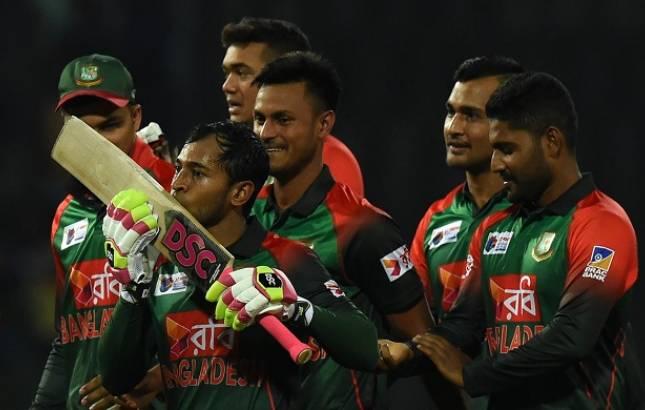 Nidahas Trophy Bangladesh STUN Sri Lanka by five wickets on back of Mushfiqur Rahim's BLISTERING innings