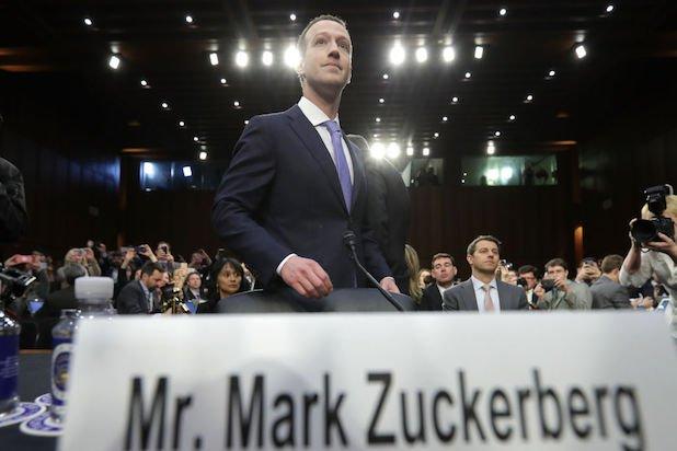 Facebook CEO Mark Zuckerberg Testifies At Joint Senate Commerce  Judiciary Hearing