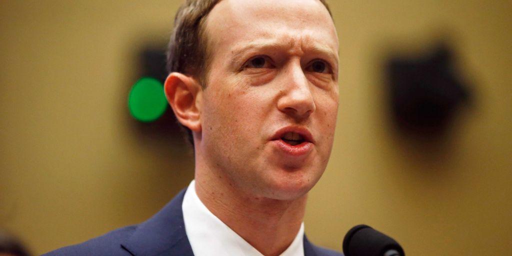 Zuckerberg Facebook Privacy Hearing Congress REUTERS