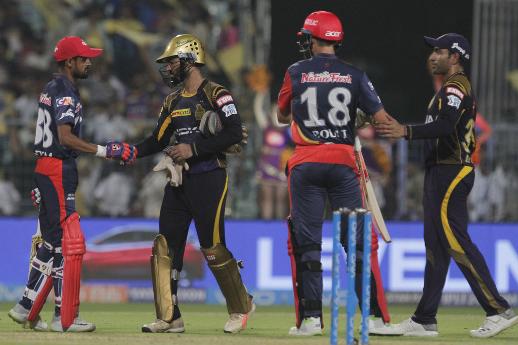 KKR vs DD highlights