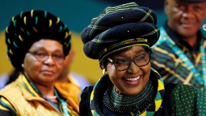 Winnie Mandela anti-apartheid campaigner dies