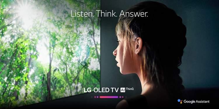 Телевизоры LG получили помощник Google Assistant