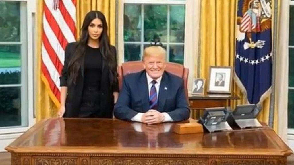 Kim Kardashian West visits with President Trump to discuss pardon request prison reforms
