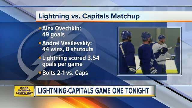 Nikita Kucherov finally gets to compete against fellow countryman Alex Ovechkin in the Stanley Cup playoffs