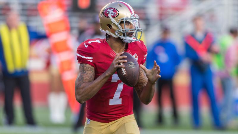 Former San Fransisco 49ers Quarterback Colin Kaepernick