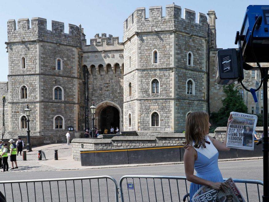 The Royal Wedding Drama Around Meghan Markle's Dad, Explained