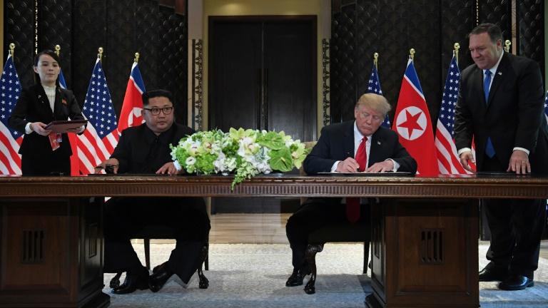 Kim invites Trump to Pyongyang, calls for mutual suspension of 'irritating & hostile' actions