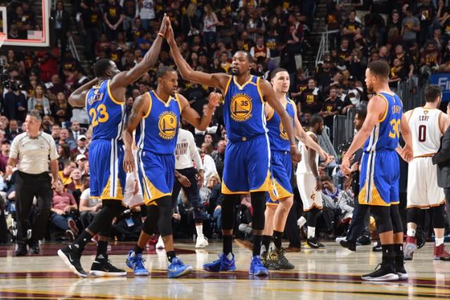 Golden State Warriors 2017 NBA Finals- Game Three