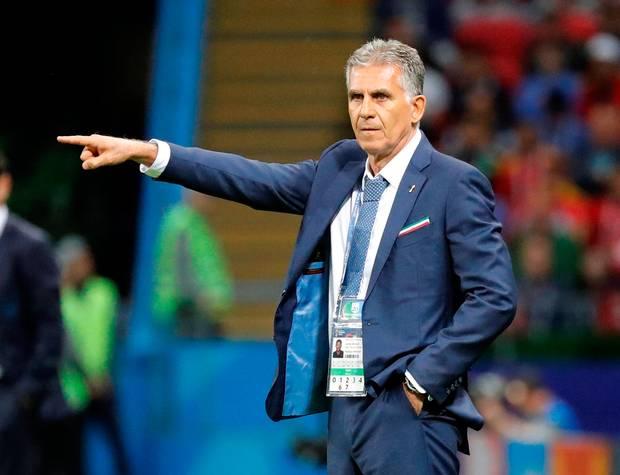 World Cup- Group B- Iran vs Spain