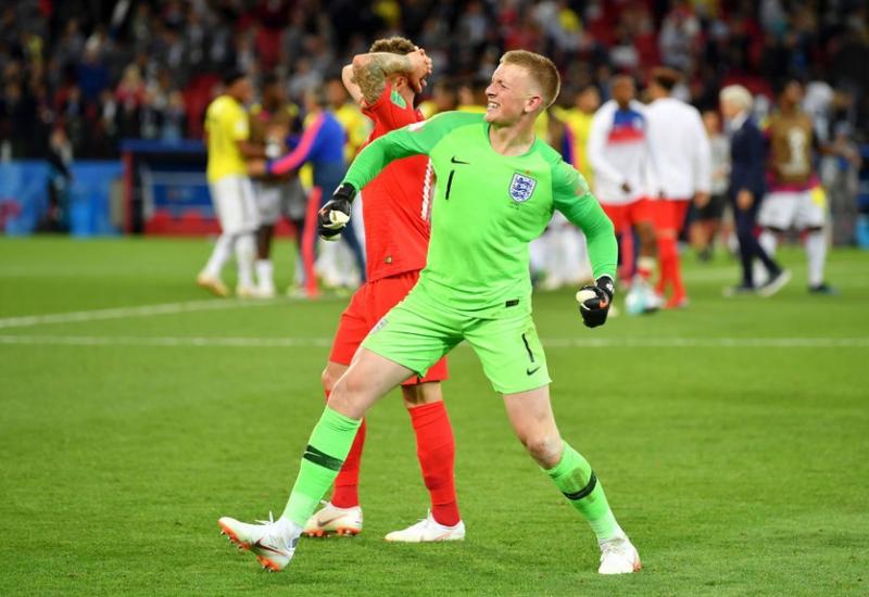ЧМ-2018 отец Пикфорда'сошел с ума после победы Англии в серии пенальти над Колумбией
