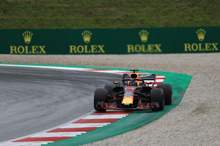 Ricciardo in FP2- 2018 Austrian GP- Formula 1