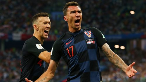 Mario Mandzukic looks set to start against Croatia