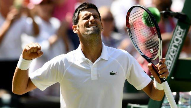 Novak Djokovic breaks Kei Nishikori's resistance to reach Wimbledon semis