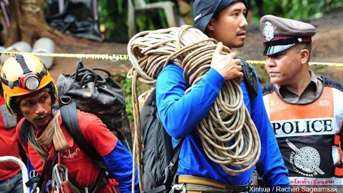 Thai Diver Dies During Cave Rescue Operations
