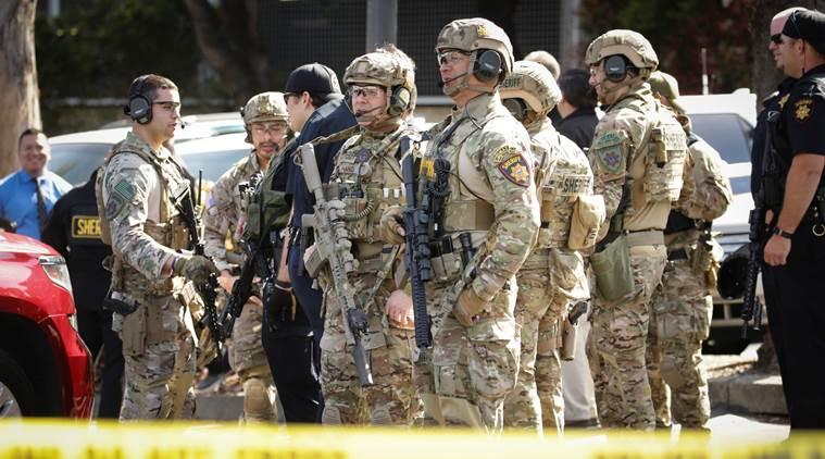 Los Angeles supermarket incident Gunman holds hostages in supermarket arrested