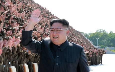 Kim Jong Un in Pyongyang