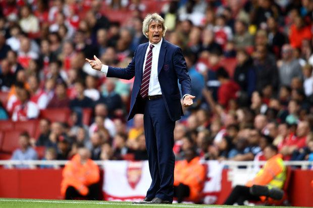 West Ham Manuel Pellegrini Arsenal