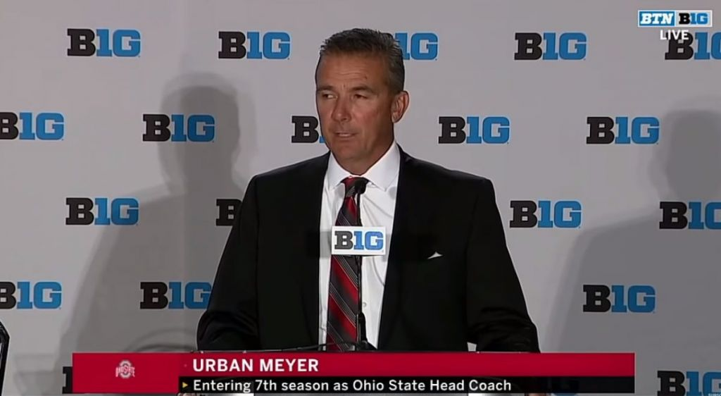 Urban Meyer says he failed on media day dealing with Zach Smith