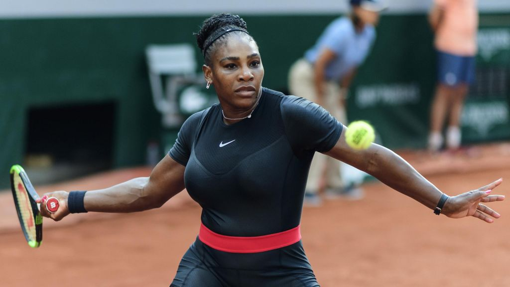 Serena Williams has been banned from wearing this black catsuit at the French Open again