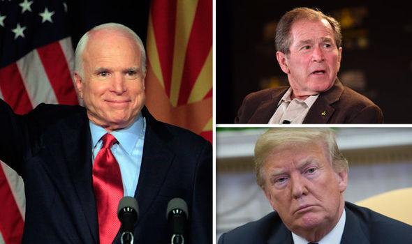 US political leaders have started sharing their heartfelt condolences for McCain's death