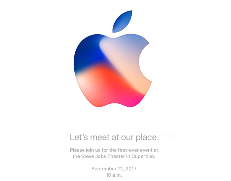 Apple's holding a Sept. 12 event, new iPhones expected