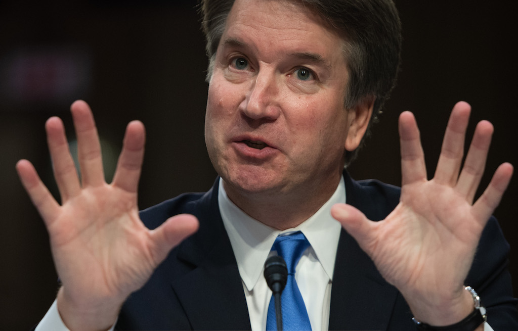 File Supreme Court nominee Brett Kavanaugh said he wishes to testify as soon as possible to clear his name