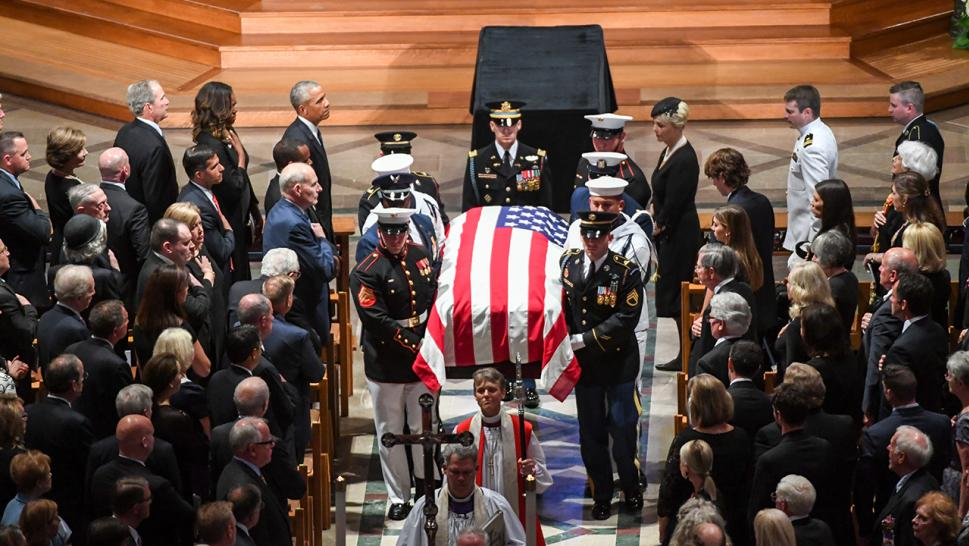 McCain laid to rest
