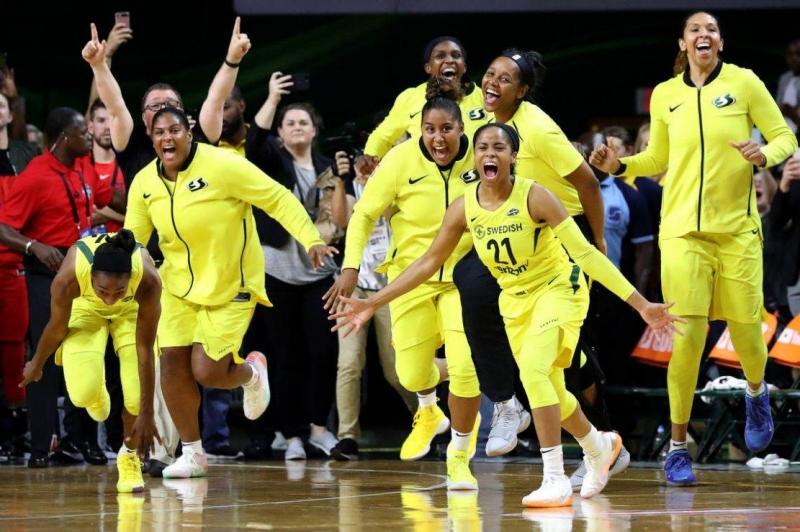 Basket WNBA Seattle sacré pour la 3e fois