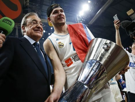 Florentino Perez talks up Real Madrid NBA move