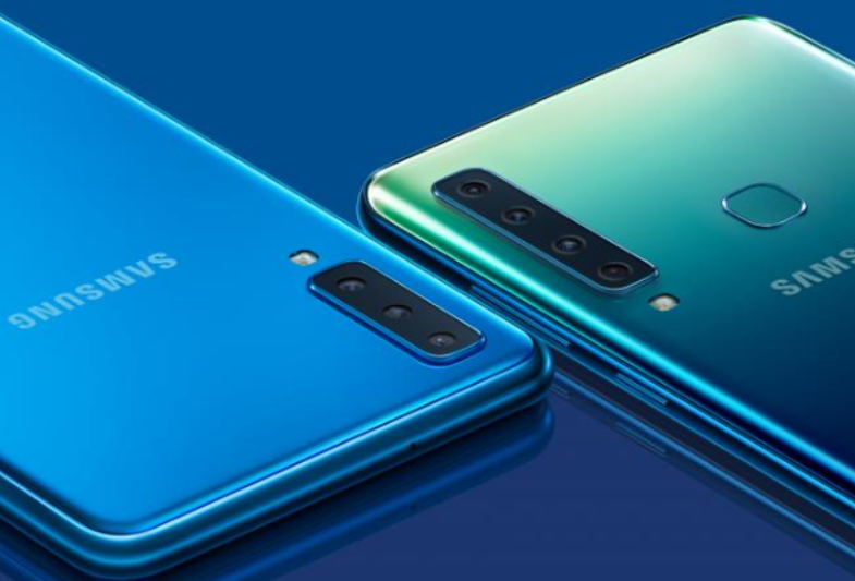 Samsung Galaxy A9 Four Rear Camera